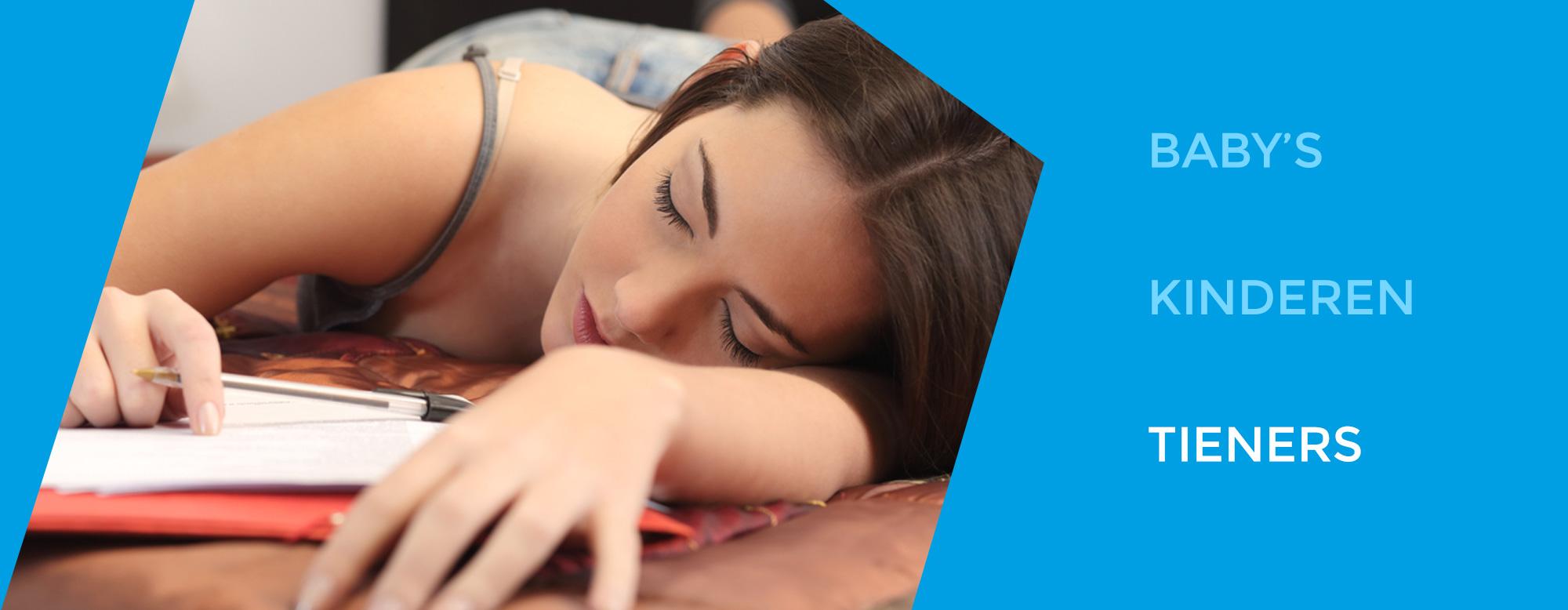 slaapproblemen bij tieners